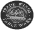 Trade Winds Table Ware Logo